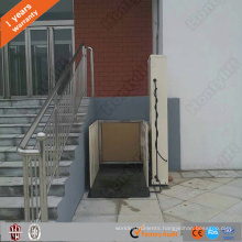 hydraulic indoor vertical wheelchair lifts elevators small home lift for disabled people
