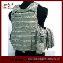 Tactical Steel Wire Vest Molle Military Strike Plate Carrier Ciras Vest