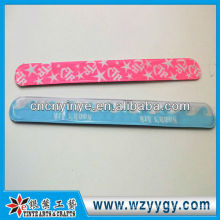 Fluorescent PVC 3m reflective band for promotion