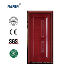 Porte de luxe en bois massif 100% (RA-N024)