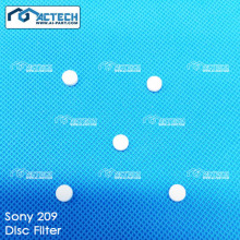 Filtro de disco para Sony 209 SMT machine