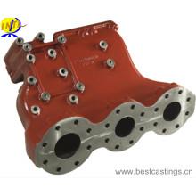 OEM Custom Ductile Eisen Sand Guss für Maschinenteile