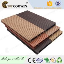 Cubierta de madera suelo laminado resistente a la intemperie tableros de madera compuestos de 150 x 25 mm