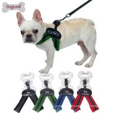 China factory comfortable fit V style dog harness leash Eco-friendly soft pet easy walking harness