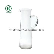 Limpar Tetera de vidro de parede única por SGS (8 * 8.5 * 26.5)