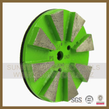 Different Hardness Metal Bond Grinding Pad for Concrete Floor