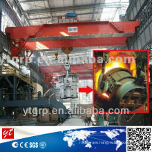Hot Metal Ladle Lifting Crane for casting workshop crane