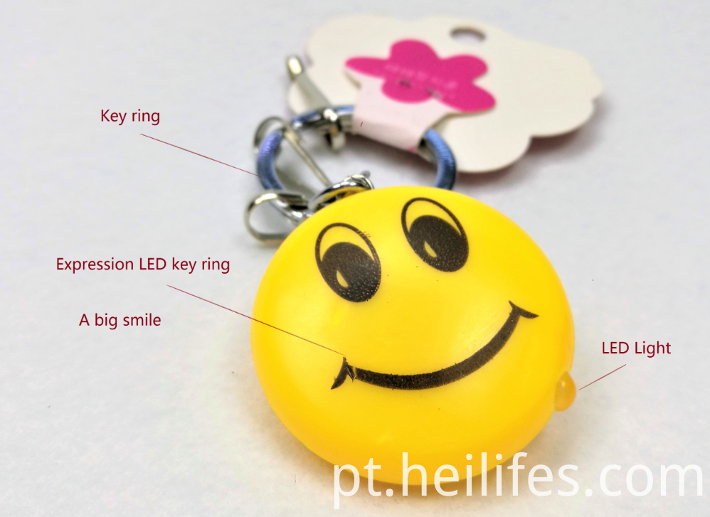 Smile Led Key Ring