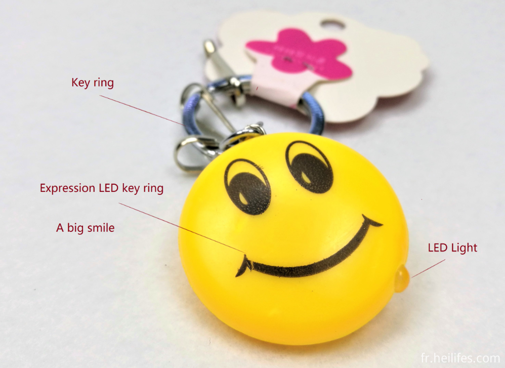 smile LED ring ring