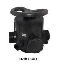 Válvula de control manual para suavizador de tratamiento de agua F64D