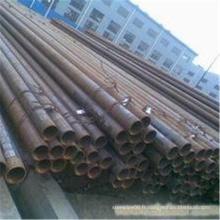 Tubes sans soudure DIN ASTM GB JIS en acier noir en provenance de Chine