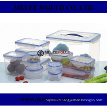 Lock Plastic Food Container Mold