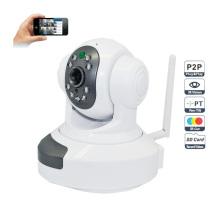 720p WiFi P2p inalámbrico Plug and Play Hdip cámara de dos vías de audio SD TF ranura de tarjeta de distancia de 10m IR