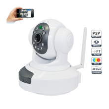 720p WiFi Wireless P2p Plug and Play Hdip Camera Two-Way Audio SD TF Card Slot 10m IR Distance