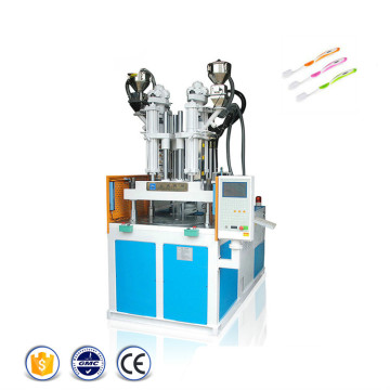 Two+Color+Toothbrush+Vertical+Injection+Molding+Machine