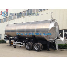 Honey Transportation Tanker Trailer 2 Axle 45 M3 Aluminum Tank Truck Trailer