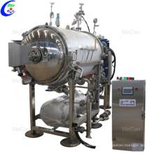Autoclave de retorta de alta presión Laboratorio Alimento industrial
