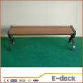 Alta qualidade ao ar livre sólida WPC madeira composto deck deck de plástico para venda