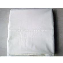 Tela poplin de 100x52 / tc / poplin branco para a tela branca uniforme médica do tc