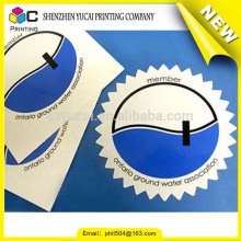 China supplier uv printing vinyl car stickers and cheap sticker printing