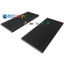 Panneaux composites en plastique de barrière de 100 * 9mm WPC