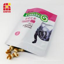 Pochette à fermeture éclair pour sac de nourriture pour chien Tail Series