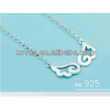 925 sterling silver angel wings necklace for girls