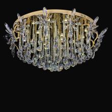decorative gold color lightings lobby chandelier lighting