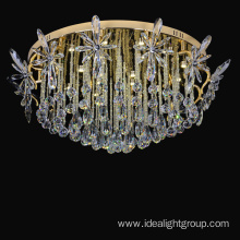 decorative gold color lightings lobby chandelier lighting