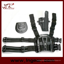 Tactical Airsoft caza gota pierna funda con soporte Mag para P220/P226