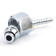 45-Grad-FEMALE 24-Grad-O-RING-Schlauchverbinder für metrische Hydraulikanschlüsse