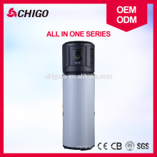 China Copeland Compressor High Quality Air Source to Water All in One Used Tankless Water Heat Pump Heater