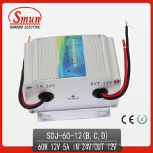 Convertidor de potencia Boost convertidor 60W 24VDC-12VDC DC