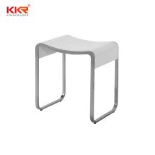 solid surface acrylic bathroom small vanity stool