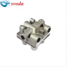 Válvula de proteção 4 vias Terex dumper, válvula de proteção de quatro circuitos, válvula de retorno15041313
