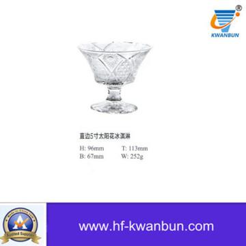 Ice Cream Bowl Glass Bowl Glassware Kitchenware Kb-Hn01216