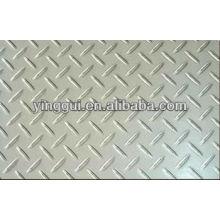 1045 placa de aluminio a cuadros