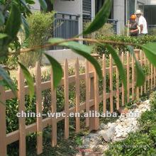 clôture de jardin WPC