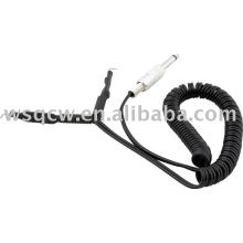 Durable tattoo clip cord