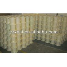250mm flange abs clear plastic bobbin( manufactuer)