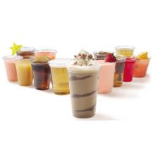 Food Grade Disposable Plastic Milk Tea Cup