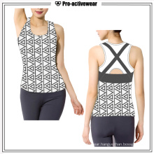 Factory Price Gym Clothing Women Tank Top Sport Wear Vest