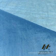 Tafetán de nylon de la arruga del 100% (ART # UWY9F001-CR)