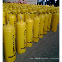 40L Yellow Dissolved Acetylene Cylinders