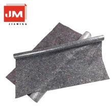 empacado a prueba de humedad fieltro alfombra de fieltro 100 tela de poliéster gris