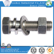 Hex Bolt Hex Nut Hex Screw Machine Bolt Machine Screw Fastener