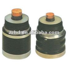 Cable de alimentación de puesta a tierra de alta tensión del conductor de cobre