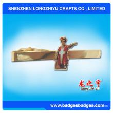 Пользовательские мужские украшения оптом галстук бар зажим связи металла