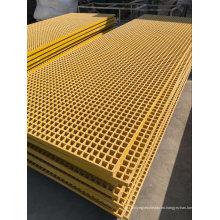 Rejilla de plástico reforzado con fibra de vidrio (FRP) Rejilla, perfil I-Beam Pultruded