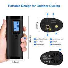 NEWO Digital Portable Tyre Inflator Scooter Air Pump